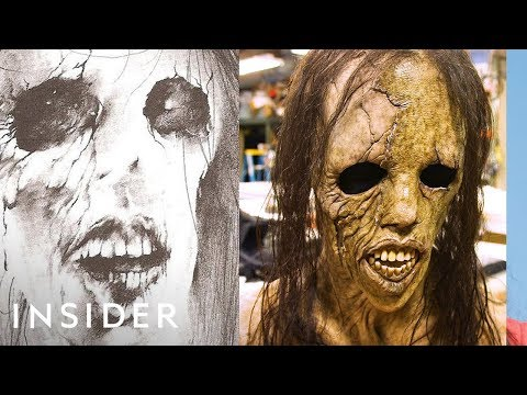 How The 'Scary Stories To Tell In The Dark' Monsters Were Created | Movies Insider