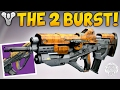 Destiny: THE 2 BURST KING! God Roll Spare Change.25 Review & Gameplay - Patch 2.5.0.2