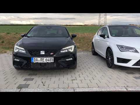 2018 SEAT Leon Cupra 300 Black Vs. Cupra 290 White - Sound, Exterior, Interior - Vergleich