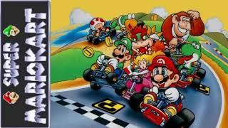 Super Mario kart rainbow road theme