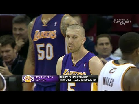 2014.02.05 - Steve Blake Triple-Double Full Highlights at Cavaliers - 11 Pts, 15 Assists, 10 Reb