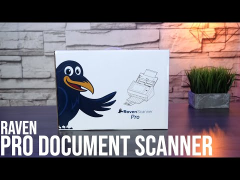 How To Set Up And Use A Raven Pro Document Scanner