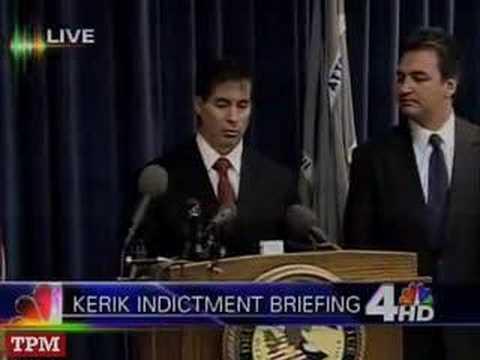 Bernard Kerik Indictment Briefing