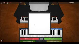 Roblox Piano || Hard To Say Goodbye - FNAF 4 Ending