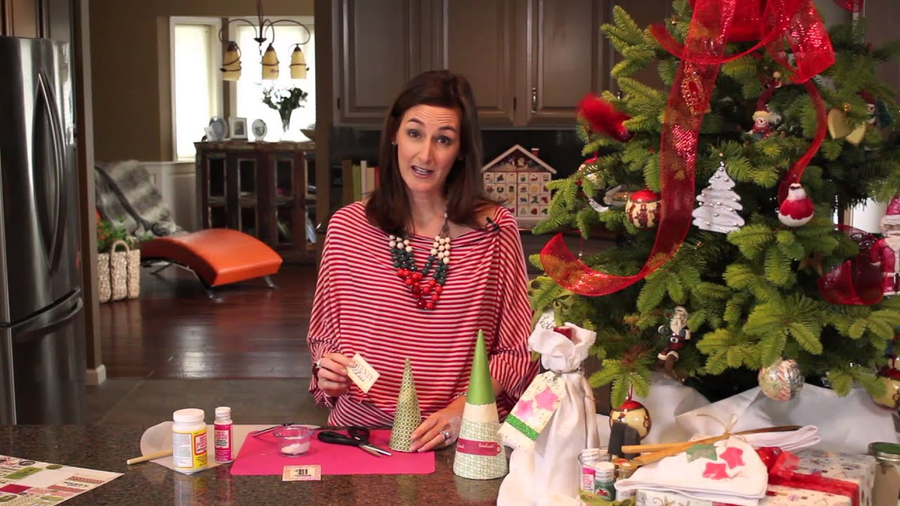 Paper Mache Decorating Seasonal Paper Mache For The Holidays Christmas Tree Decorations