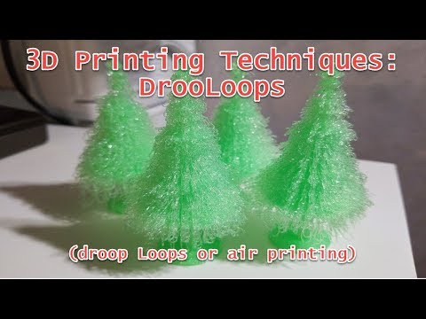 3D Printing Techniques: DrooLoops