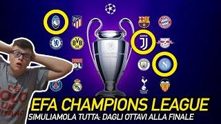 SIMULIAMO TUTTA LA CHAMPIONS LEAGUE 2019-20 DAGLI OTTAVI ALLA FINALE!!