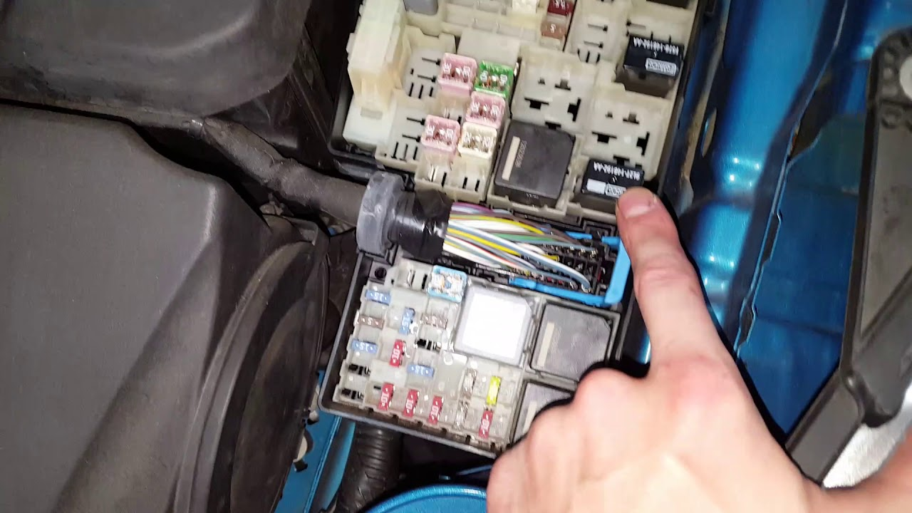 2013 Ford Focus AC Relay and Fuse Air Conditioning Wiring Diagram For Ford on