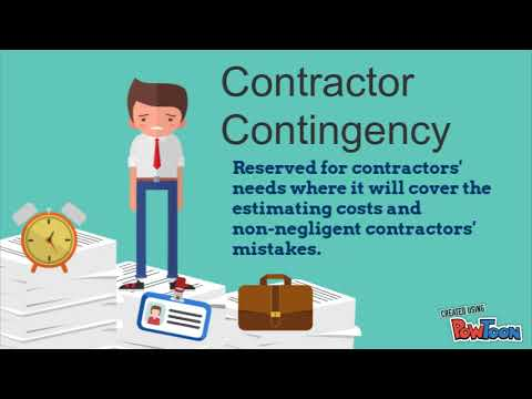 Cost Contingency Presentation Video