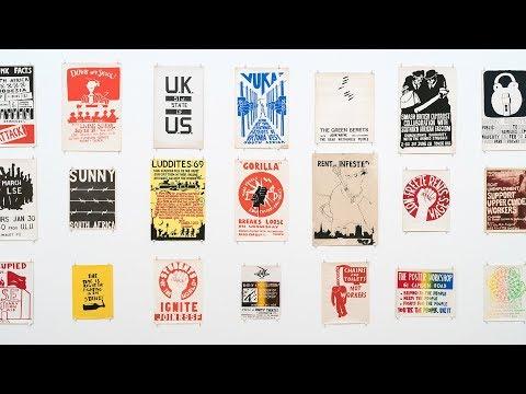 Camden Poster Workshop 1968-1971 - Tate Britain - London - June 2018