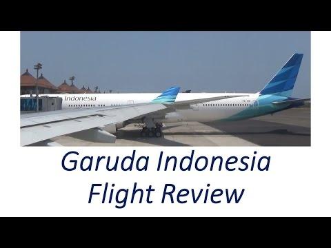 Garuda Indonesia Flight Review - Economy