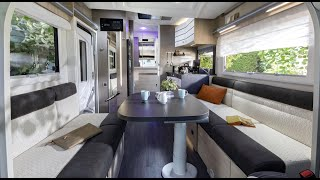 Unimaginable space:the folddown bed motorhome Challenger 250 StartEdition 2021 Ford.Caravan Salon 20