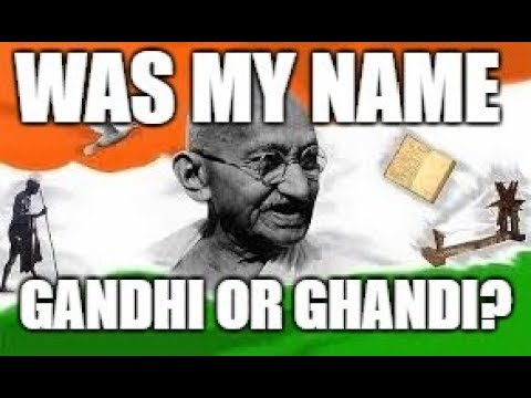 Mandela Effect Do You Remember Mahatma Ghandi Or Gandhi? Voting Video #233