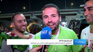 شاهد.. المصريون يشاركون الجزائر بفرحة الفوز بأمم إفريقيا