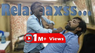 ASMR Cosmic Barber Baba Sen's Cosmic Head Massage | Travel Series 2018 Video 15