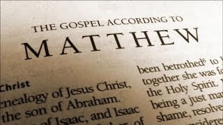 Book of Matthew, Introduction and Background