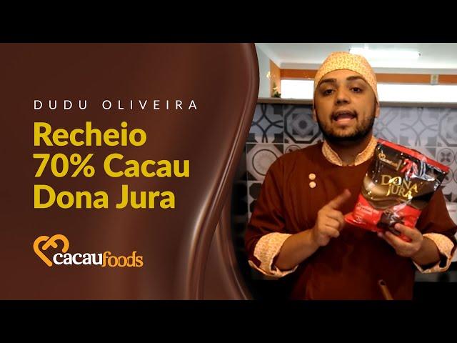 Como fazer um recheio 70% Cacau Dona Jura | Cacau Foods