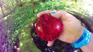 REAL GIANT RUBY GEM  FOUND AT THE WISHING WELL!! HUGE!!