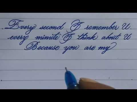 How to write good and neatly handwriting | beautiful handwriting