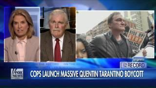 Police boycott of Tarantino grows