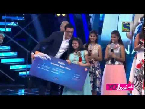 indian idol junior grand finale 6th september 2015 top3 winner