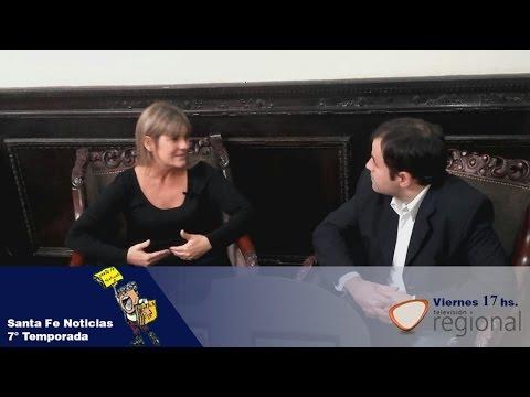 """Veronica Irizar """"Endeudamiento Municipal de Rosario"""" Santa fe Noticias TV"""