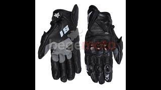 НОВИНКА! ОБЗОР защитных кожаных перчаток Alpinestars GP PRO BW REPLICA