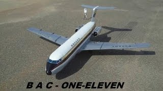 rc bac 111 one eleven mohawk maiden flight