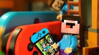 НОВЫЕ ДРУЗЬЯ и Лего НУБик Майнкрафт ЧЕЛЛЕНДЖ Nintendo SWITCH - Мультики LEGO Minecraft для Детей