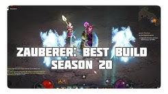 Zauberer: Der beste Build für Season 20 (Typhonschleier, Patch 2.6.8)