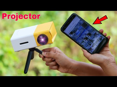 how to connect phone to projector