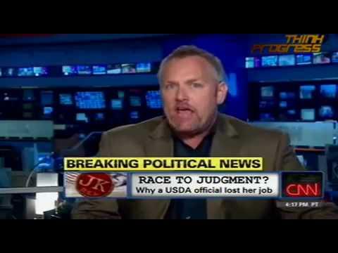 Andrew Breitbart-Shirley Sherrod-John King Interview, Part 2.mp4