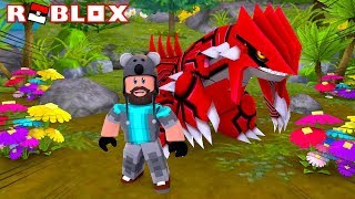 5 IV GROUDON + I CAN FLY!! | Pokémon Brick Bronze Randomizer [#11] | ROBLOX