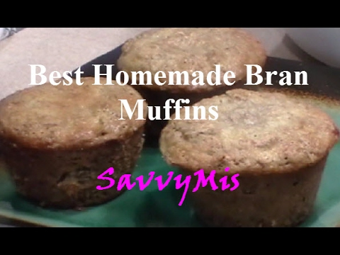 Best Homemade Bran Muffins