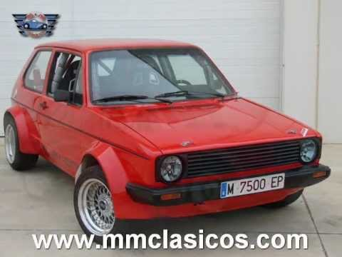 mm clasicos volkswagen golf gti serie 1 rabbit rally 1982 youtube. Black Bedroom Furniture Sets. Home Design Ideas