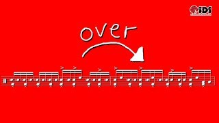 Over the Bar Drum Fill   Drum Lesson in 30 Seconds