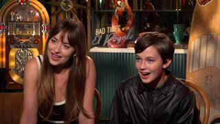 """Dakota Johnson & Cailee Spaeny for """"Bad Times at The El Royale"""""""