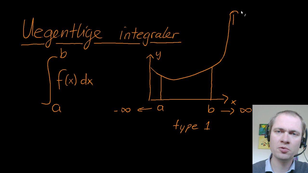 Uegentlige integraler