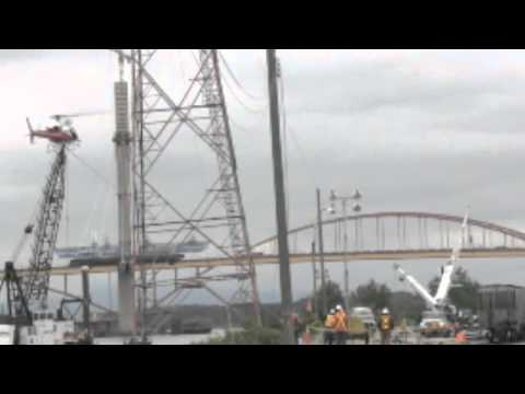 VIDEO: BC Hydro repairs collapsed transmission tower in Surrey, British  Columbia