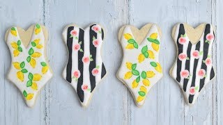 DOLCE & GABBANA SWIMSUIT COOKIES by Haniela