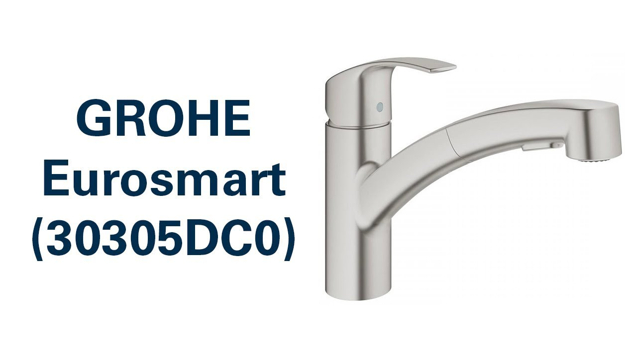 Grohe Armatur Küche Montage Змішувач Grohe Eurosmart (30305dc0) - Youtube