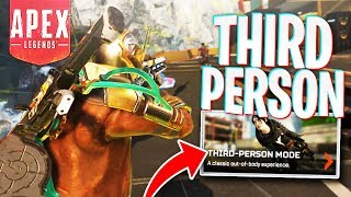 Third-Person Mode is SO Fun! PS4 Apex Legends Third-Person Mode