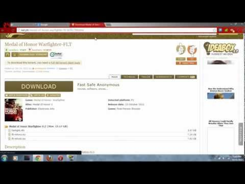 How To Download Medal Of Honor Warfighter Free Torrent (HD)