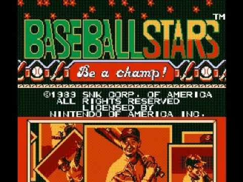 Baseball Stars (NES) Music - Title Theme