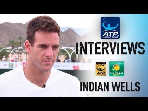 Del Potro Confident He Has Tools To Win At Indian Wells