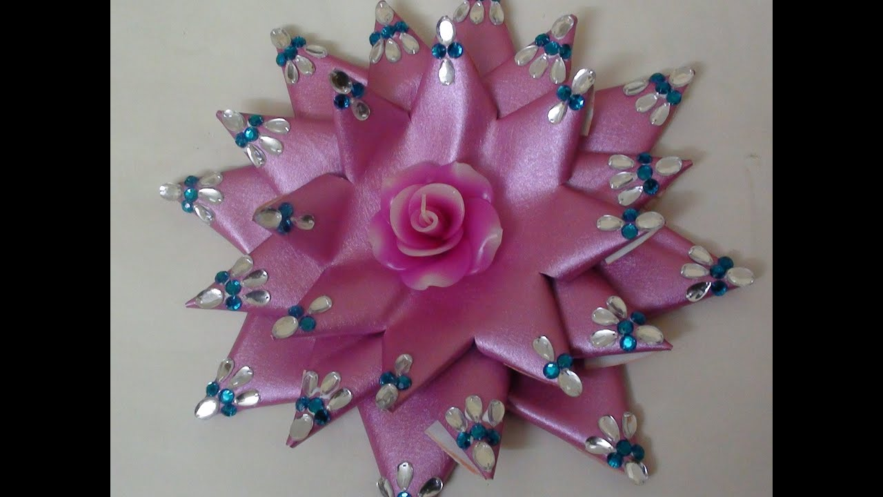 Lotus making with candle decoration - YouTube for Ideas For Candle Decoration Competition  585ifm