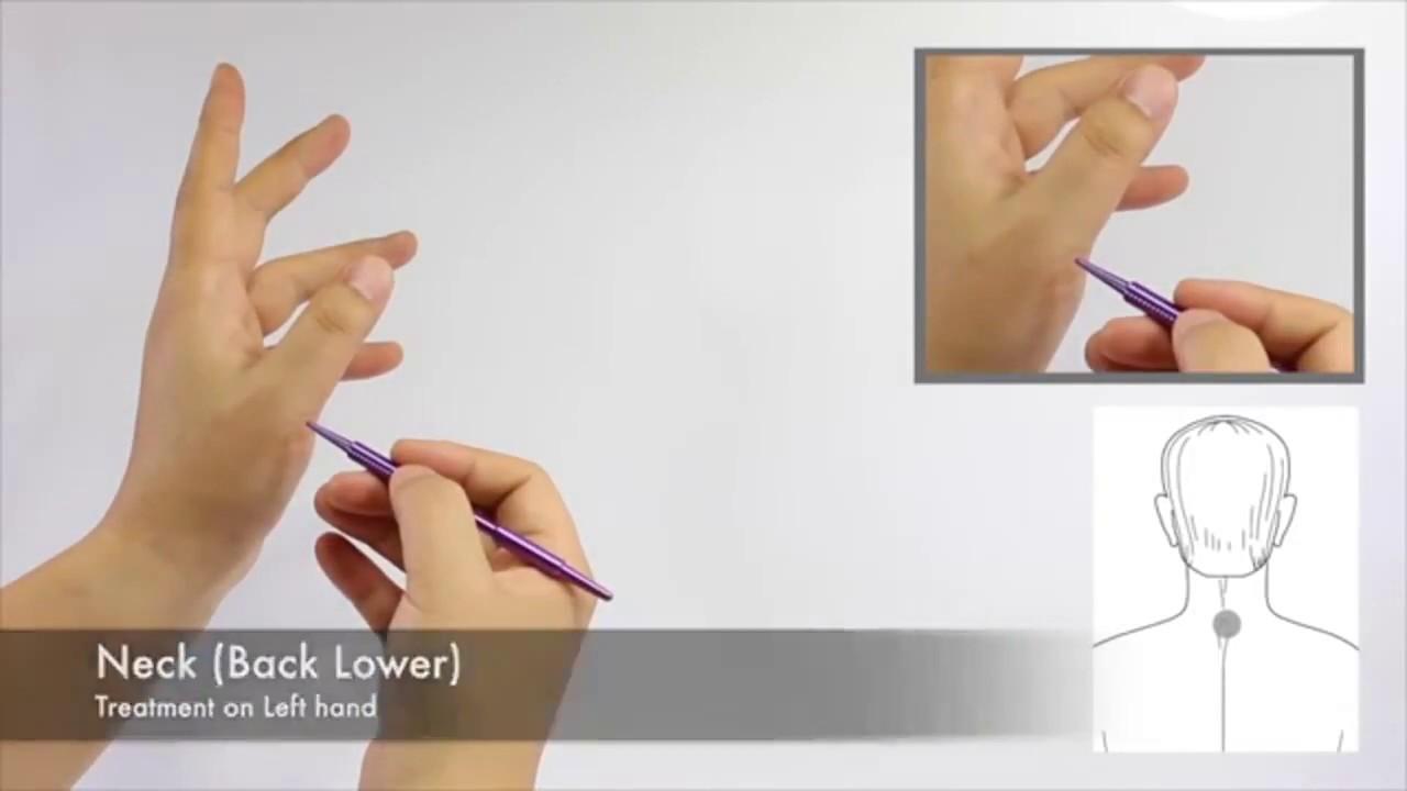 Neck Pain - SUJOK ACUPRESSURE POINTS - YouTube