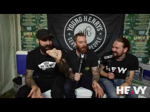 HEAVY TV Interviews Four Year Strong @ UNIFY 2018