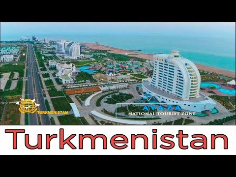 "Отель ""Шамекан"". Каспийское море. Туркменистан / Hotel ""Shamekan"". Caspian Sea. Turkmenistan"
