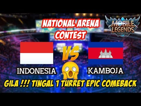 WAW Epic Comeback Terbaik Dari Pro Player Indonesia vs Kamboja National Arena Contest